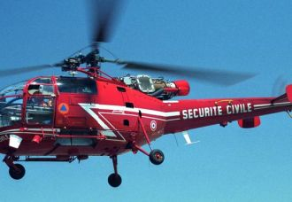 Alouette III Securite Civile